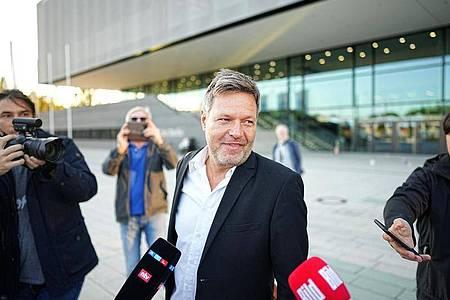 Robert Habeck, Bundesvorsitzender von Bündnis 90/Die Grünen, in Berlin. Foto: Michael Kappeler/dpa