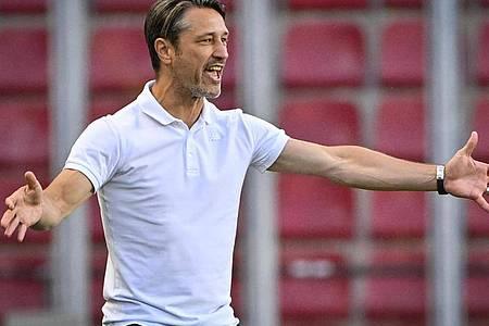 Trainer Niko Kovac muss mit der AS Monaco um den Einzug in die Champions League zittern. Foto: Šimánek Vít/CTK/dpa