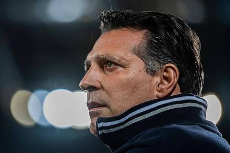 Wird wieder Trainer in Sandhausen:Alois Schwartz. Foto: Robert Michael/dpa-Zentralbild/dpa