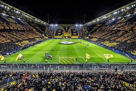 Das Dortmunder Stadion wird gegen den FCSchalke 04 leer bleiben. Foto: Guido Kirchner/dpa