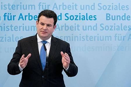 «Ich will, dass die Grundrente zum 1.1.2021 in Kraft tritt»: Bundesarbeitsminister Hubertus Heil. Foto: Kay Nietfeld/dpa Pool/dpa