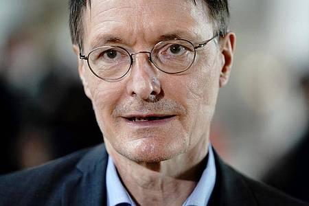 Der Politiker Karl Lauterbach ist Gesundheitsexperte der SPD. Foto: Kay Nietfeld/dpa