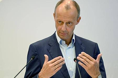 Friedrich Merz will keineKampfabstimmung auf einem Bundesparteitag mehr. Foto: Bernd Weißbrod/dpa