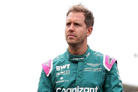 Fährt weiter für Aston Martin: Sebastian Vettel. Foto: Bradley Collyer/PA Wire/dpa