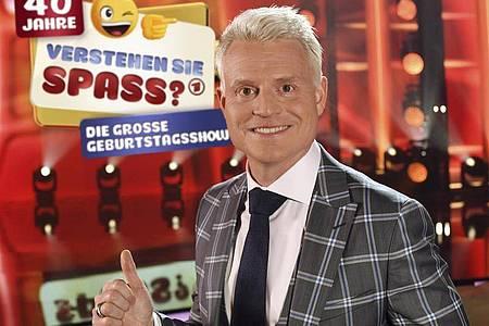 Der Herr der lustigen Streiche:Guido Cantz. Foto: Wolfgang Breiteneicher/SWR/dpa