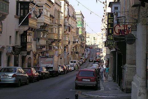 Straße in Malta