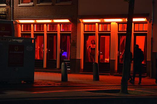 Sexarbeiterinnen in Amsterdam