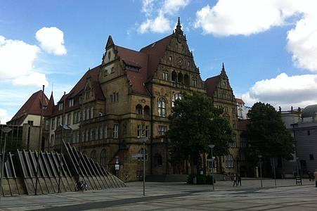 Das Alte Rathaus in Bielefeld