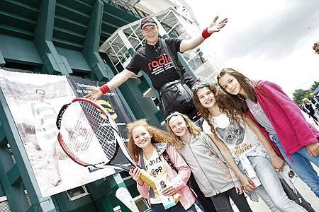 Besucherinnen der Gerry Weber Open