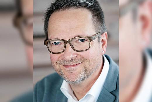 Portrait von Kliniksprecher Axel Dittmar