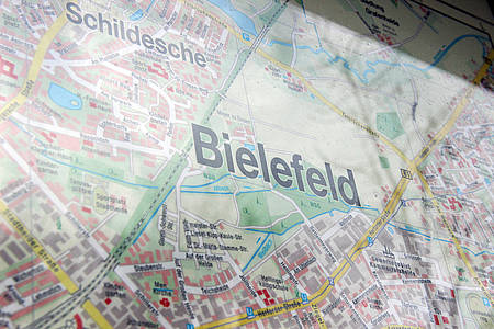 Stadtplan von Bielefeld