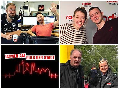 Radio Bielefeld Moderatoren haben Spaß