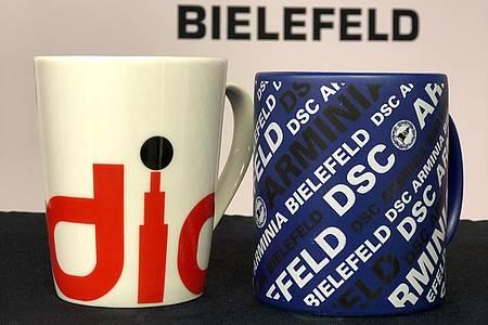 Radio Bielefeld- und Arminia-Tasse