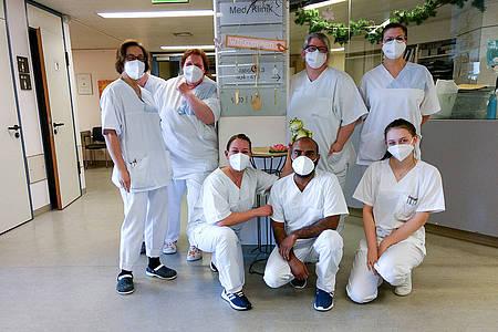 Die Pflegerinnen und Pfleger im Krankenhaus