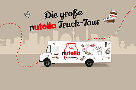 Grafik des nutella Trucks