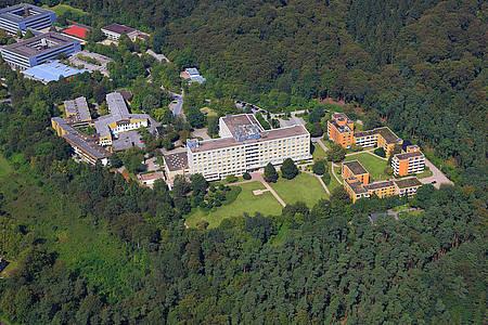 Krankenhause Rosenhöhe aus der Vogelperspektive