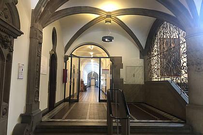 Flur im Alten Rathaus in Bielefeld