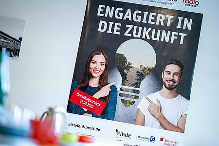 Plakat vom Bielefeld-Preis