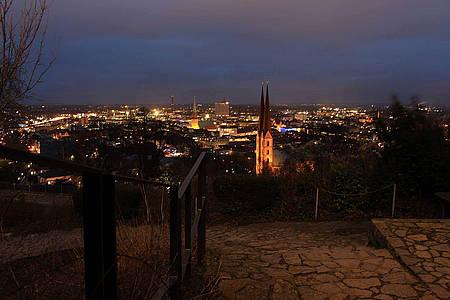 Blick über die Stadt Bielefeld