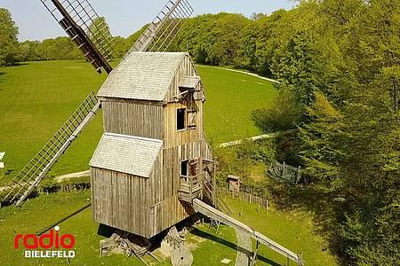 Das Bauernhaus-Museum von oben