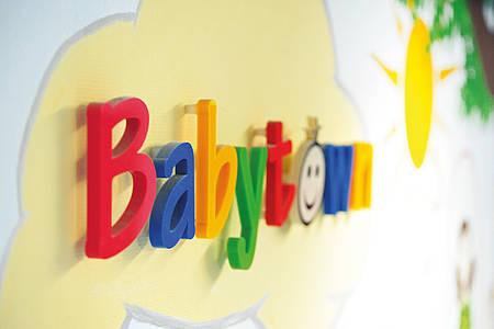 Babytown Schriftzug
