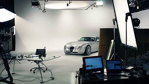 Studioaufnahme Auto