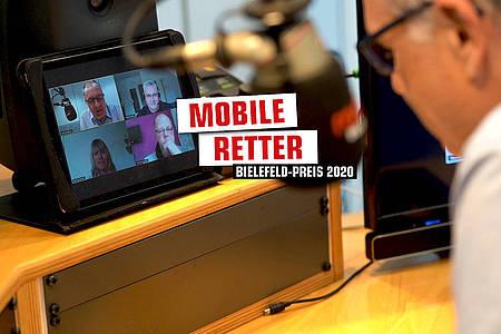 """Bielefeld-Preis: Netzwerk """"Mobile Retter"""""""