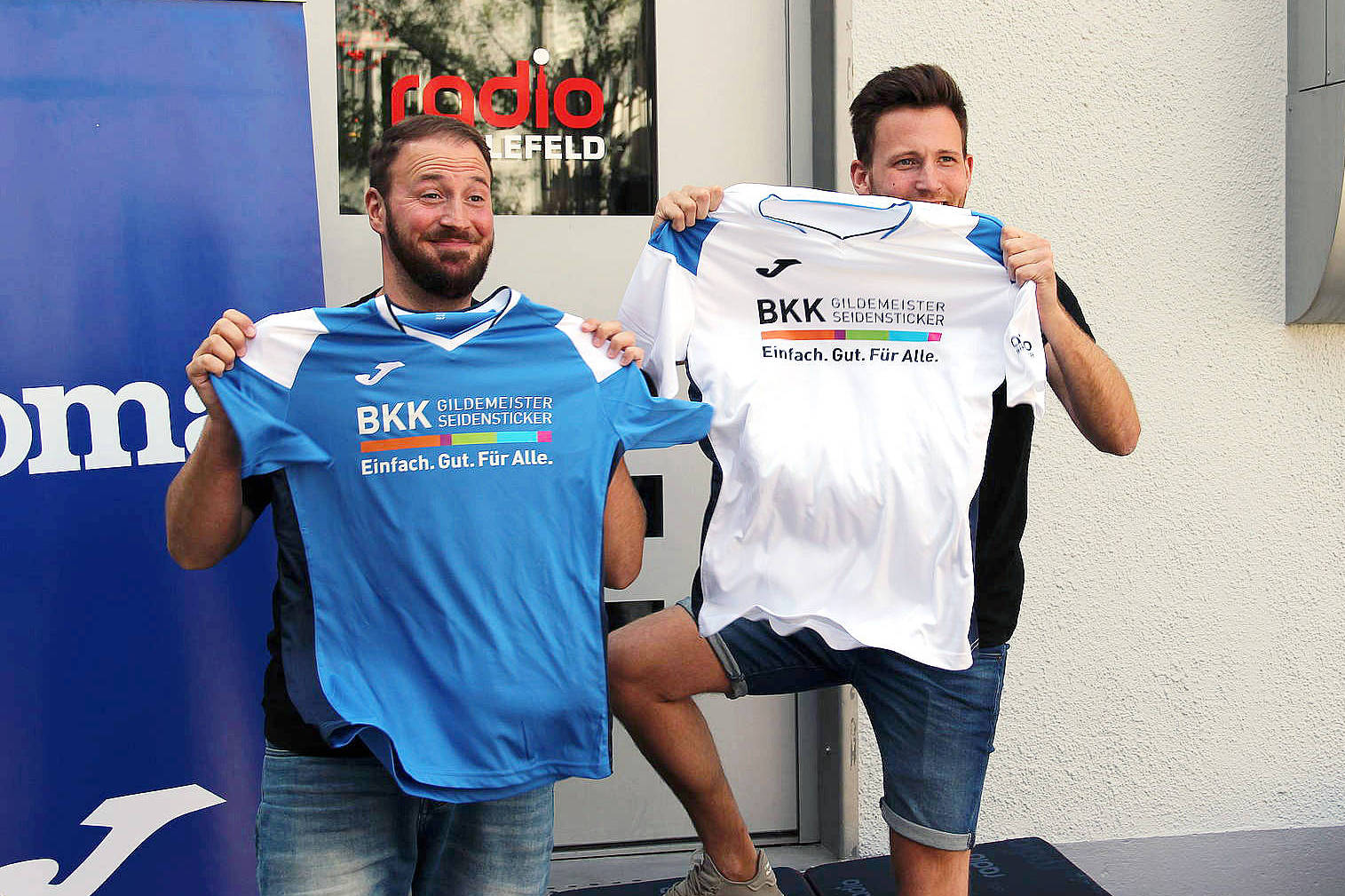 Radio Bielefeld Vereinkleiden 2019