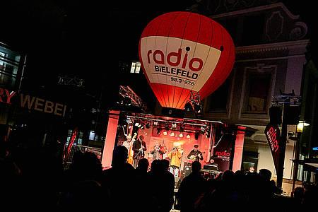 Radio Bielefeld Weihnachtsmarkt auf dem Süsterplatz