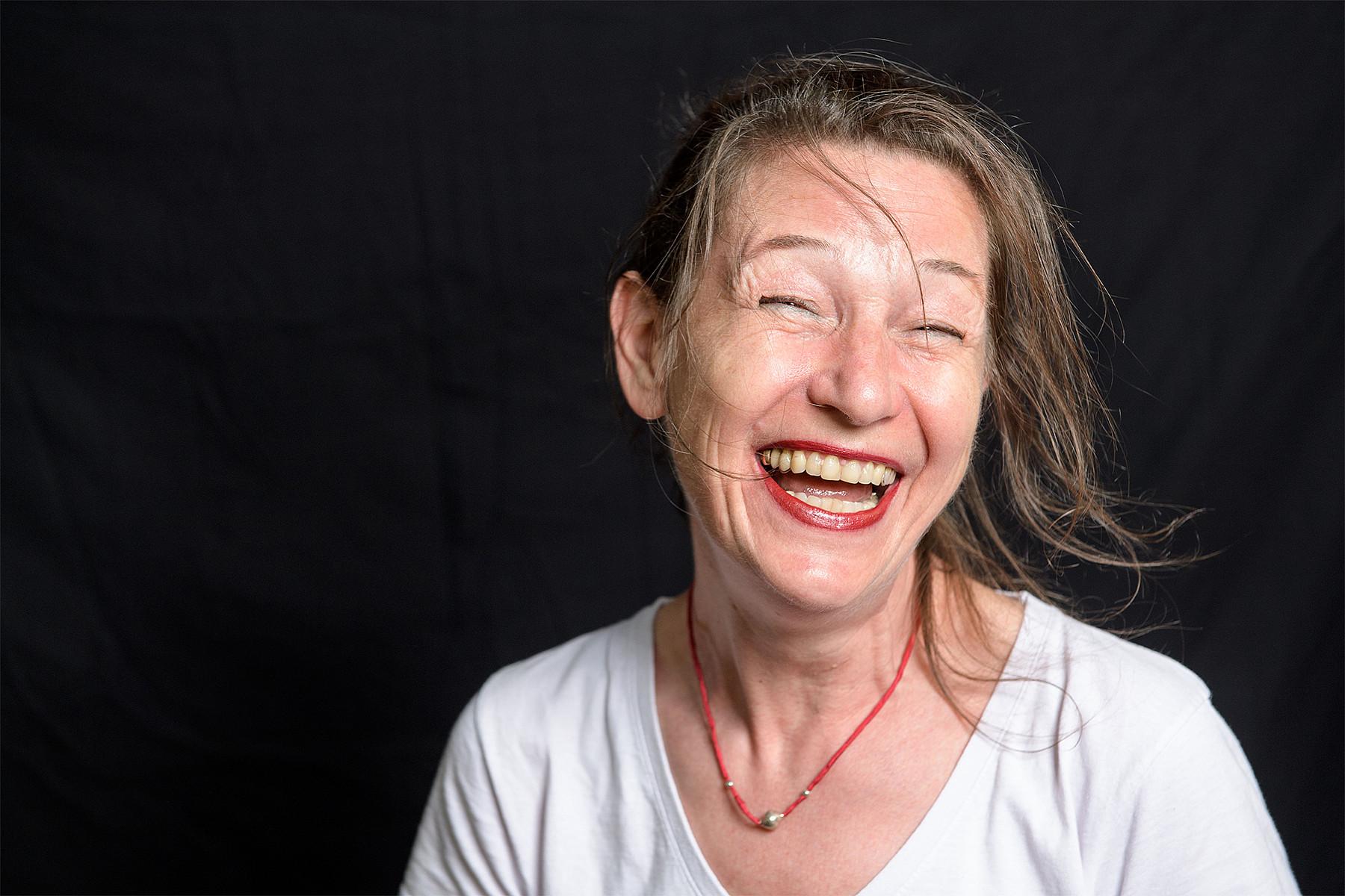 Kraft des Lachens